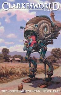 Clarkesworld Magazine – Issue 26 cover - click to view full size