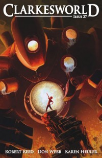 Clarkesworld Magazine – Issue 27 cover - click to view full size