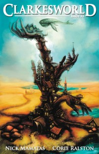 Clarkesworld Magazine – Issue 33 cover - click to view full size