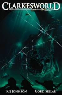 Clarkesworld Magazine – Issue 37 cover - click to view full size