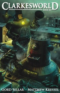 Clarkesworld Magazine – Issue 42 cover - click to view full size