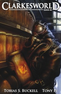 Clarkesworld Magazine – Issue 44 cover - click to view full size