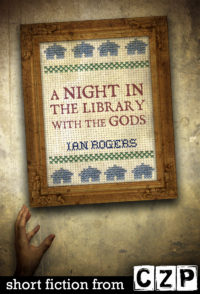 A Night in the Library with the Gods cover - click to view full size
