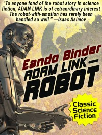 Adam Link, Robot cover - click to view full size