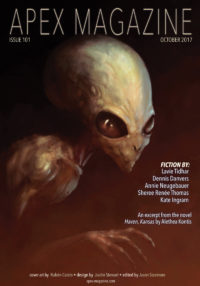 Apex Magazine Issue 101 cover - click to view full size