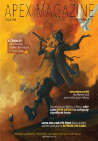 Apex Magazine Issue 105 cover - click to view full size