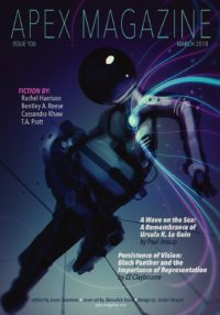 Apex Magazine Issue 106 cover - click to view full size