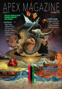 Apex Magazine Issue 111 cover - click to view full size