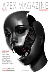 Apex Magazine Issue 91 cover - click to view full size