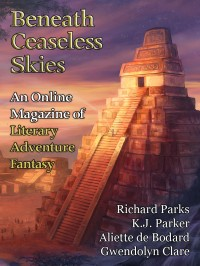Beneath Ceaseless Skies Issue #157, Sixth Anniversary Double-Issue cover - click to view full size
