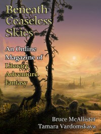 Beneath Ceaseless Skies Issue #186 cover - click to view full size