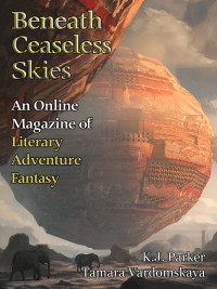 Beneath Ceaseless Skies Issue #192 cover - click to view full size
