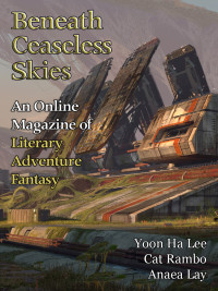 Beneath Ceaseless Skies Issue #194, Special Double-Issue for BCS Science-Fantasy Month 3 cover - click to view full size