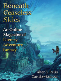 Beneath Ceaseless Skies Issue #196 cover - click to view full size