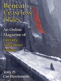 Beneath Ceaseless Skies Issue #217 cover - click to view full size