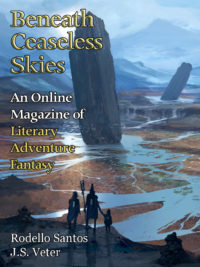 Beneath Ceaseless Skies Issue #221 cover - click to view full size
