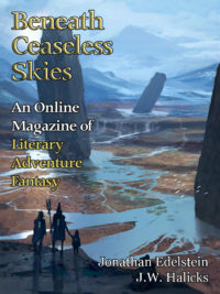 Beneath Ceaseless Skies Issue #222 cover - click to view full size