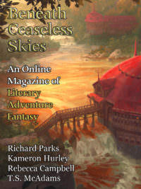 Beneath Ceaseless Skies Issue #235, Ninth Anniversary Double-Issue cover - click to view full size