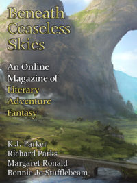 Beneath Ceaseless Skies Issue #250, Special Double-Issue cover - click to view full size
