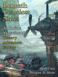 Beneath Ceaseless Skies Issue #268 cover - click to view full size