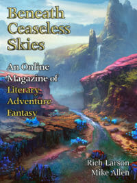 Beneath Ceaseless Skies Issue #289 cover - click to view full size