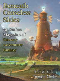 Beneath Ceaseless Skies Issue #290 cover - click to view full size