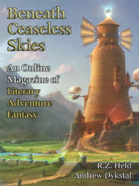 Beneath Ceaseless Skies Issue #291 cover - click to view full size