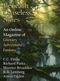 Beneath Ceaseless Skies Issue #300, Special Double-Issue cover - click to view full size
