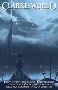 Clarkesworld Magazine – Issue 101 cover - click to view full size