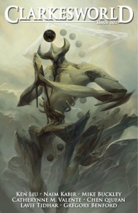 Clarkesworld Magazine – Issue 102 cover - click to view full size