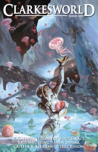 Clarkesworld Magazine – Issue 105 cover - click to view full size