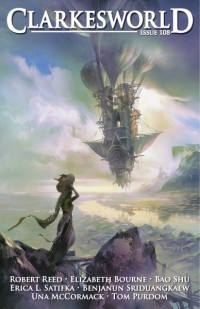 Clarkesworld Magazine – Issue 108 cover - click to view full size