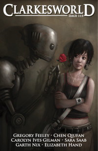 Clarkesworld Magazine – Issue 115 cover - click to view full size