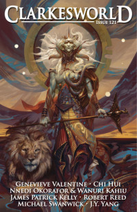 Clarkesworld Magazine – Issue 121 cover - click to view full size