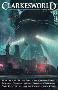 Clarkesworld Magazine – Issue 124 cover - click to view full size