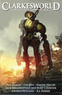 Clarkesworld Magazine – Issue 125 cover - click to view full size