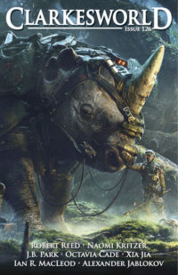 Clarkesworld Magazine – Issue 126 cover - click to view full size
