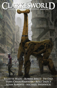 Clarkesworld Magazine – Issue 127 cover - click to view full size