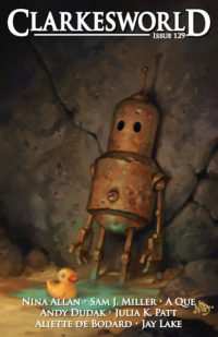 Clarkesworld Magazine – Issue 129 cover - click to view full size