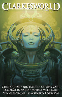 Clarkesworld Magazine – Issue 131 cover - click to view full size
