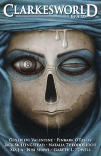 Clarkesworld Magazine – Issue 133 cover - click to view full size