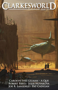 Clarkesworld Magazine – Issue 137 cover - click to view full size
