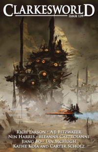 Clarkesworld Magazine – Issue 139 cover - click to view full size