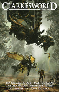 Clarkesworld Magazine – Issue 140 cover - click to view full size