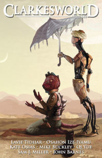 Clarkesworld Magazine – Issue 142 cover - click to view full size