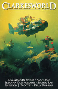 Clarkesworld Magazine – Issue 147 cover - click to view full size
