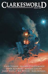 Clarkesworld Magazine – Issue 148 cover - click to view full size