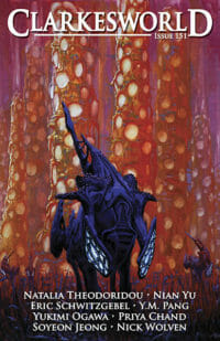 Clarkesworld Magazine – Issue 151 cover - click to view full size