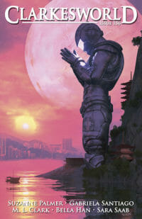 Clarkesworld Magazine – Issue 156 cover - click to view full size