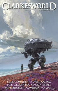 Clarkesworld Magazine – Issue 162 cover - click to view full size